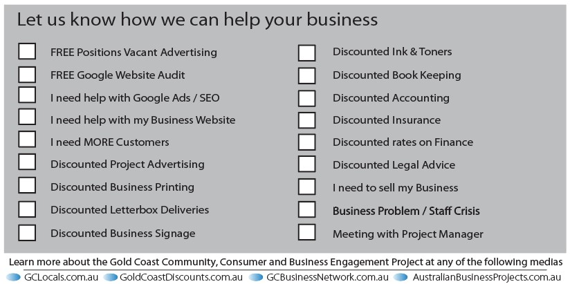 Gold Coast Business Network - How can we help you